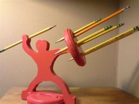 pencil holder warrior   awesome pencil holder