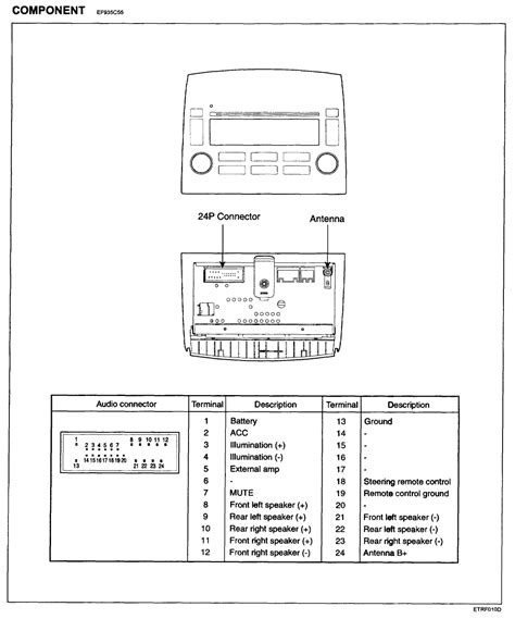 2007 toyota yaris radio wiring diagram 38 wiring diagram