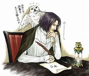 Severus Snape - Harry Potter Fan Art (8751346) - Fanpop