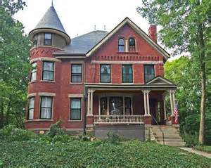 brick victorian with turret painting victorian exterior new york by old house guy llc