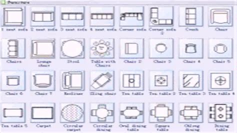 floor plan symbols  dimensions youtube