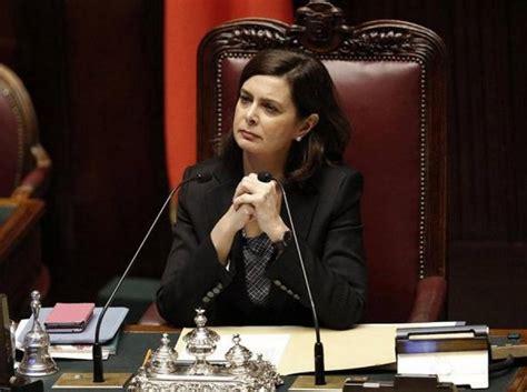 presidente della camera laura boldrini