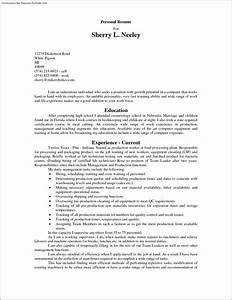 fast food resume template free samples examples With fast resume template