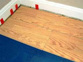 How to Install a Laminate Floating Floor