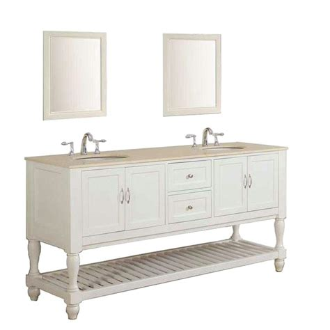 70 double sink bathroom vanity direct vanity sink mission turnleg 70 in double vanity in
