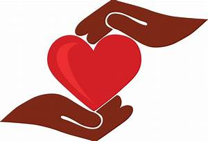 Helping Hands Heart Clipart - ClipartXtras