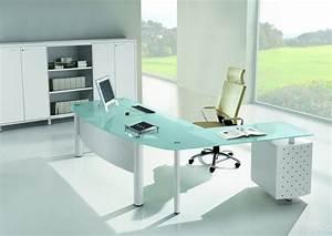 Bureau En Verre Design : bureaux direction verre bureau de direction verre ubia ~ Teatrodelosmanantiales.com Idées de Décoration