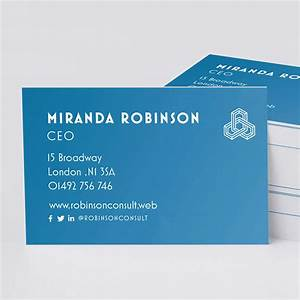 How to create business cards 10 golden design rules by vistaprint for What to put in a business card