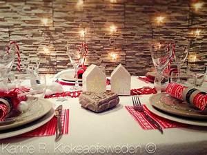 Table De Noel Blanche : table de no l blanc polaire et rouge gourmand kickea of sweden ~ Carolinahurricanesstore.com Idées de Décoration