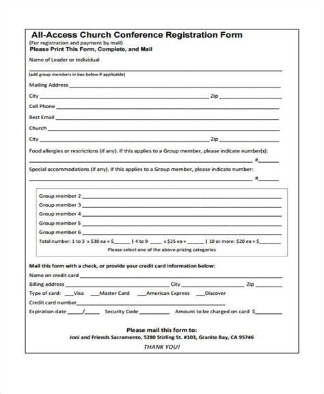 Sle Workshop Registration Form Template by Retreat Registration Form Template 28 Images Printable