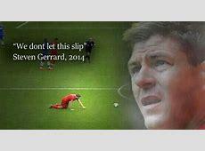 All the best Steven Gerrard memes as captain's slip v