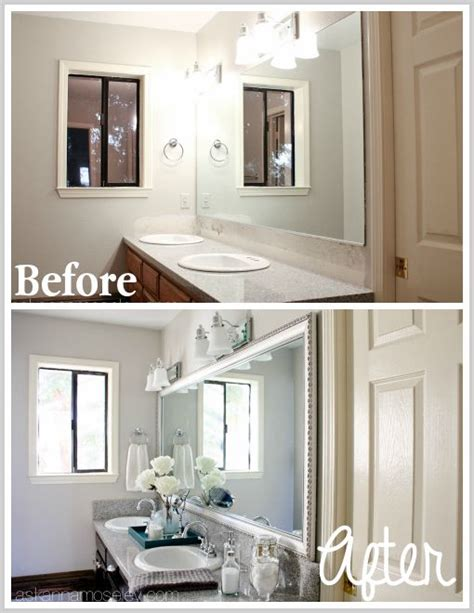 Bathroom Mirror Makeover bathroom mirror makeover with mirrormate best of