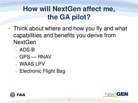 general aviation nextgen