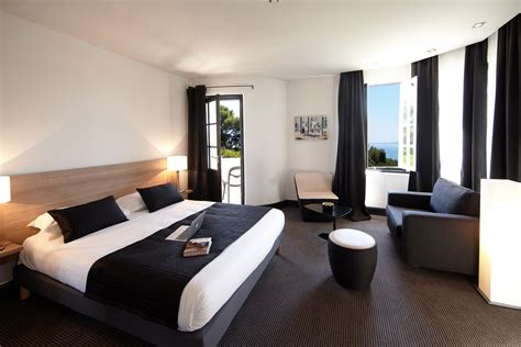 chambre vue de haut les chambres chambre villa 27m vue mer hotel rayol
