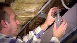 Eclairage Indirect Plafond : plafond plagyp d avec clairage indirect youtube ~ Melissatoandfro.com Idées de Décoration