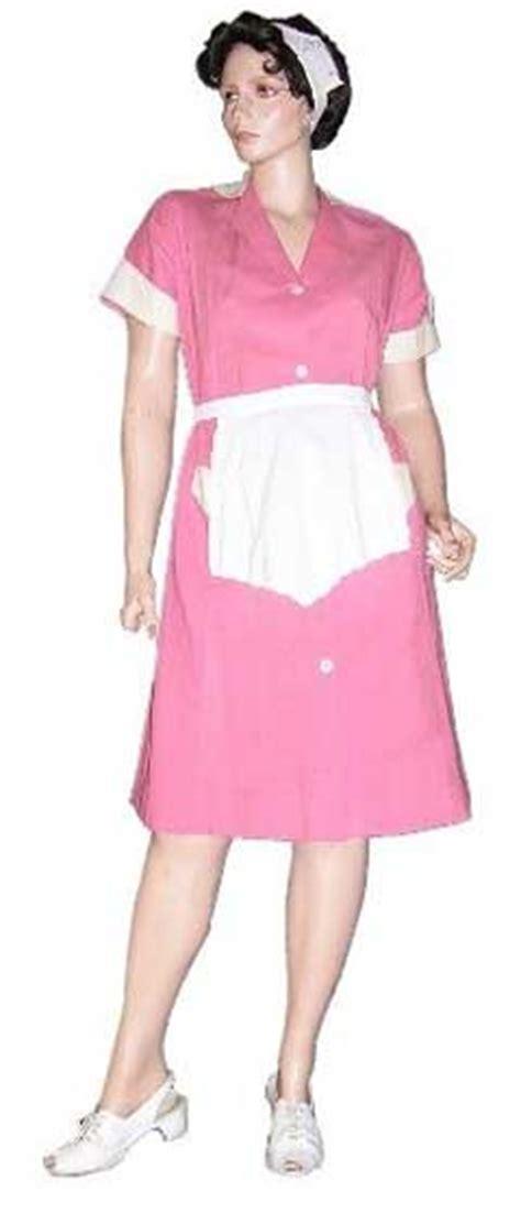 Pink Waitress Uniform First Butt Sex