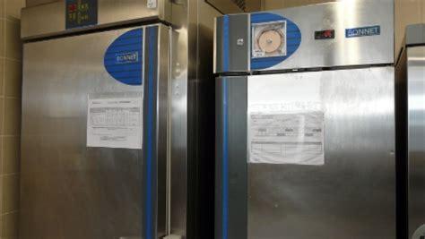 relevé temperature chambre froide fiche pratique stockage des matières premières au froid
