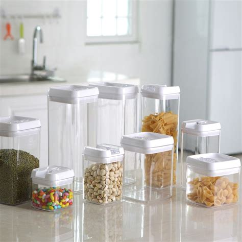 storage canisters kitchen kitchen storage jars container for food cooking tools storage box food container kitchen