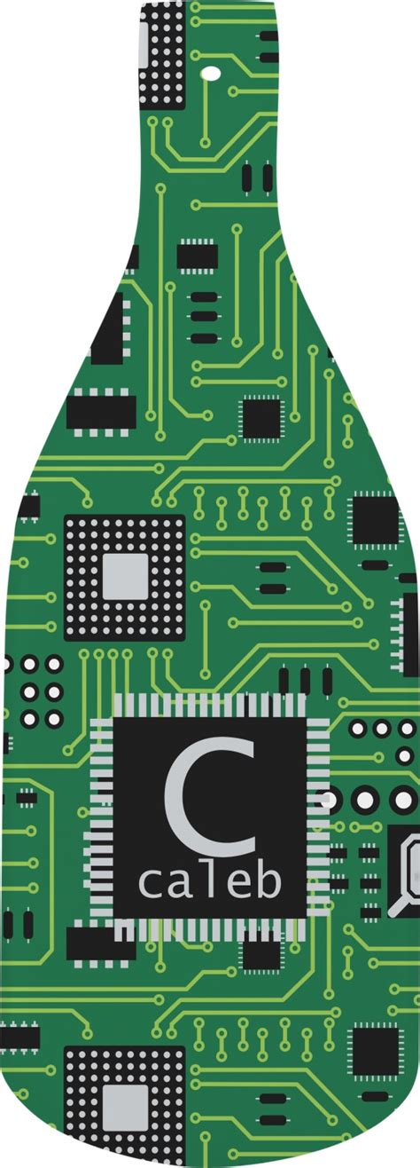 Circuit Board Bottle Shaped Cutting Personalized