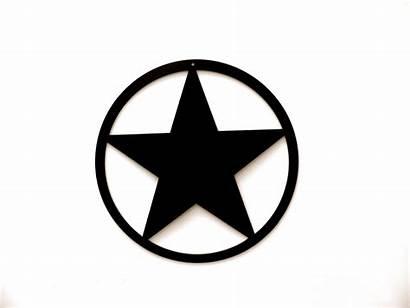 Star Western Clip Circle Around Logos Clipart