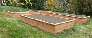 Jardin En Carré : jardin en carre bois homeezy ~ Premium-room.com Idées de Décoration