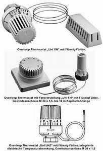 Elektronisches Thermostat Mit Fernfühler : thermostatventil shkwissen haustechnikdialog ~ Eleganceandgraceweddings.com Haus und Dekorationen