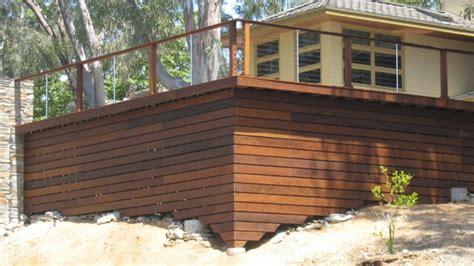 Horizontal Deck Skirting Ideas by Deck Skirting Pictures