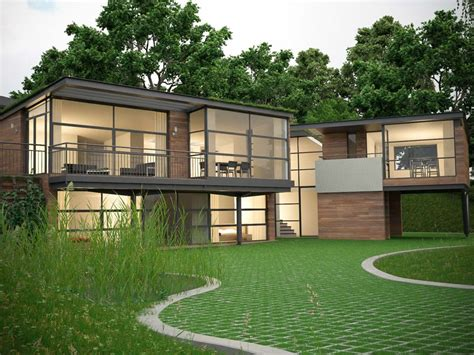 eco homes plans eco house denbigh wales