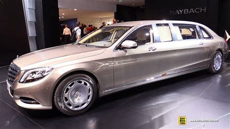 Small Limousine by 2016 Mercedes Maybach S600 Pullman Limo Exterior