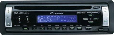pioneer deh mp cd receiver  mpwma playback