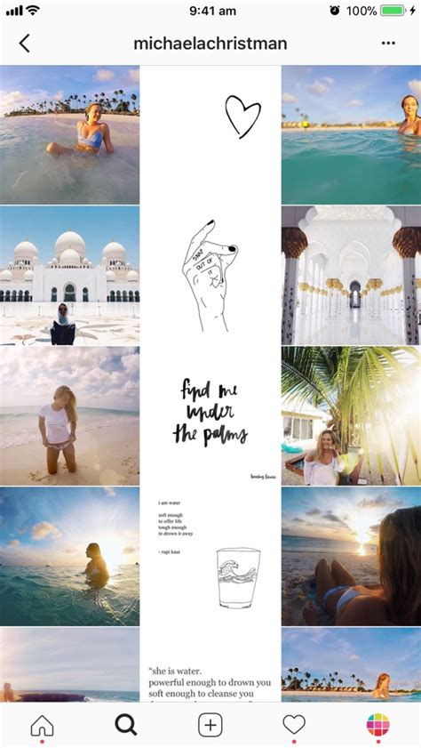 instagram layout 9 types of instagram grid layouts planner tips