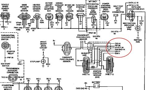 Wiring Harnes 94 Ford Ranger by 94 Ford Ranger 2 3 Manual Spark On Only One Side Both
