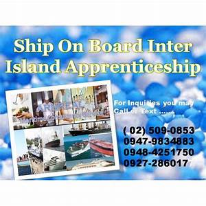 Inter Island Apprenticeship For Deck Cadet    Engine Cadet