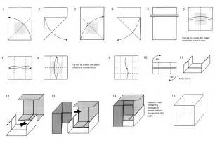 Origami Cube Instructions