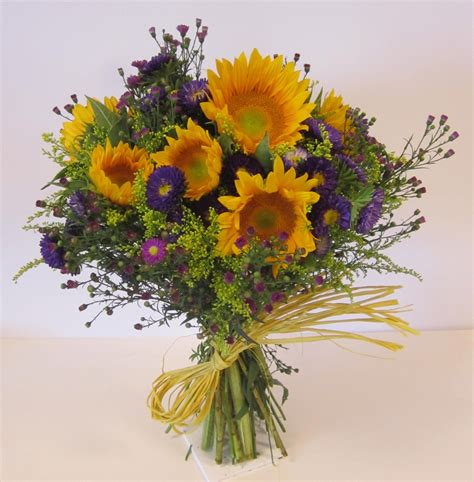 coxcomb flower sunflower aster bouquet mellano company