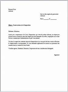 Lettre Officier Ministere Public Contestation : modele lettre administrative impots ~ Medecine-chirurgie-esthetiques.com Avis de Voitures