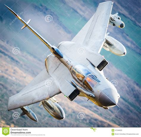 Fighter Jet In Flight Stock Photo. Image Of Royal, Fast