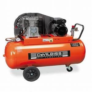 Prix D Un Compresseur : compresseur d 39 air piston 90 litres 3cv 230v ~ Edinachiropracticcenter.com Idées de Décoration