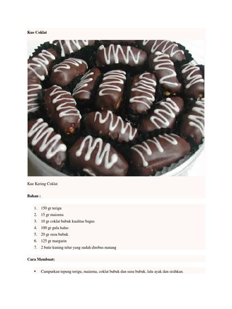 gambar coklat bubuk  kue   infobaru
