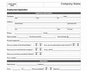 basic job application basic job application form With basic employment application template free