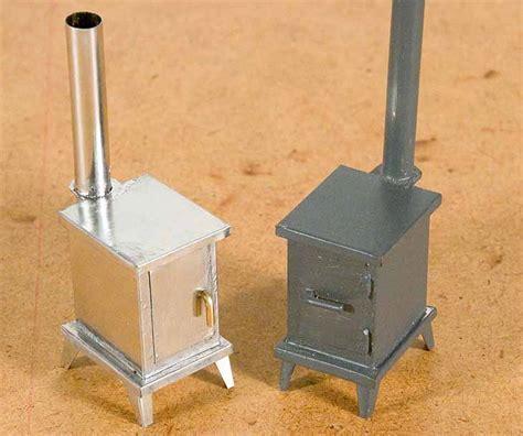 wood stove tinplate girl