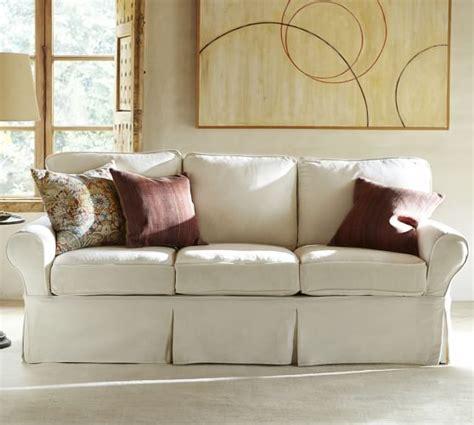 slipcovered sofas for sale sale pb basic slipcovered sofa collection pottery barn