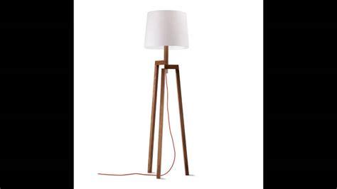 Contemporary Wood Floor Lamp