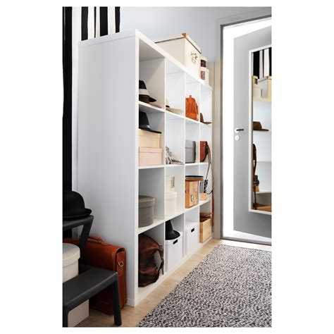 white storage unit ikea kallax shelving unit white 147x147 cm ikea