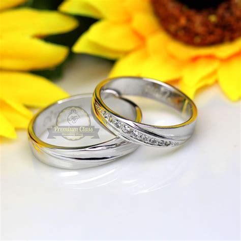 cincin nama lapis emas cincin kawin palladium p145wg jual cincin palladium