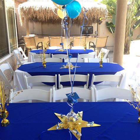 Graduation Table Decorations For Guys by Jen Smith