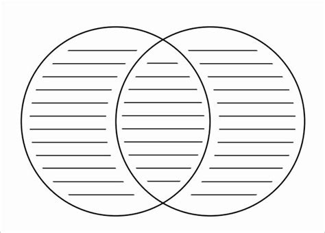 venn diagram template editable   graphic organizer