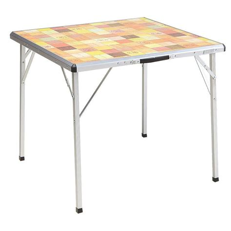 folding cing table coleman coleman pack away outdoor folding table 2000020278 the