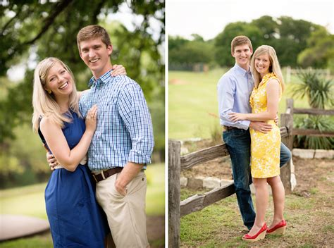 allison davids preppy country engagement