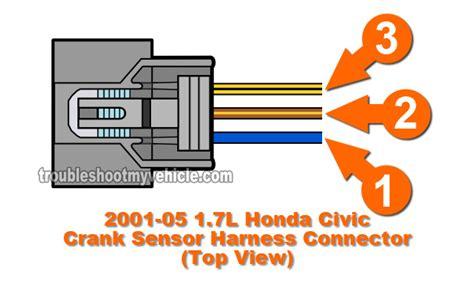 Part How Test The Crank Sensor Honda